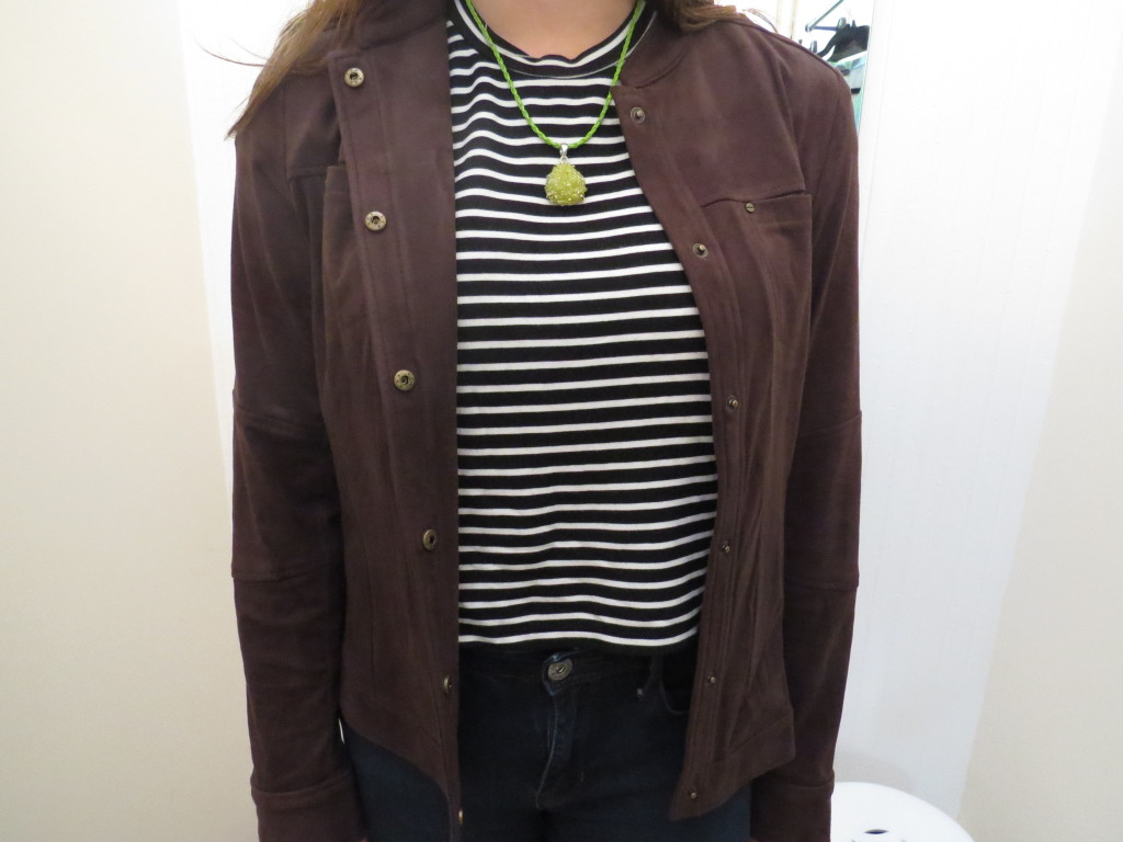 This lovely jacket is from Cape Chic in Falmouth.
