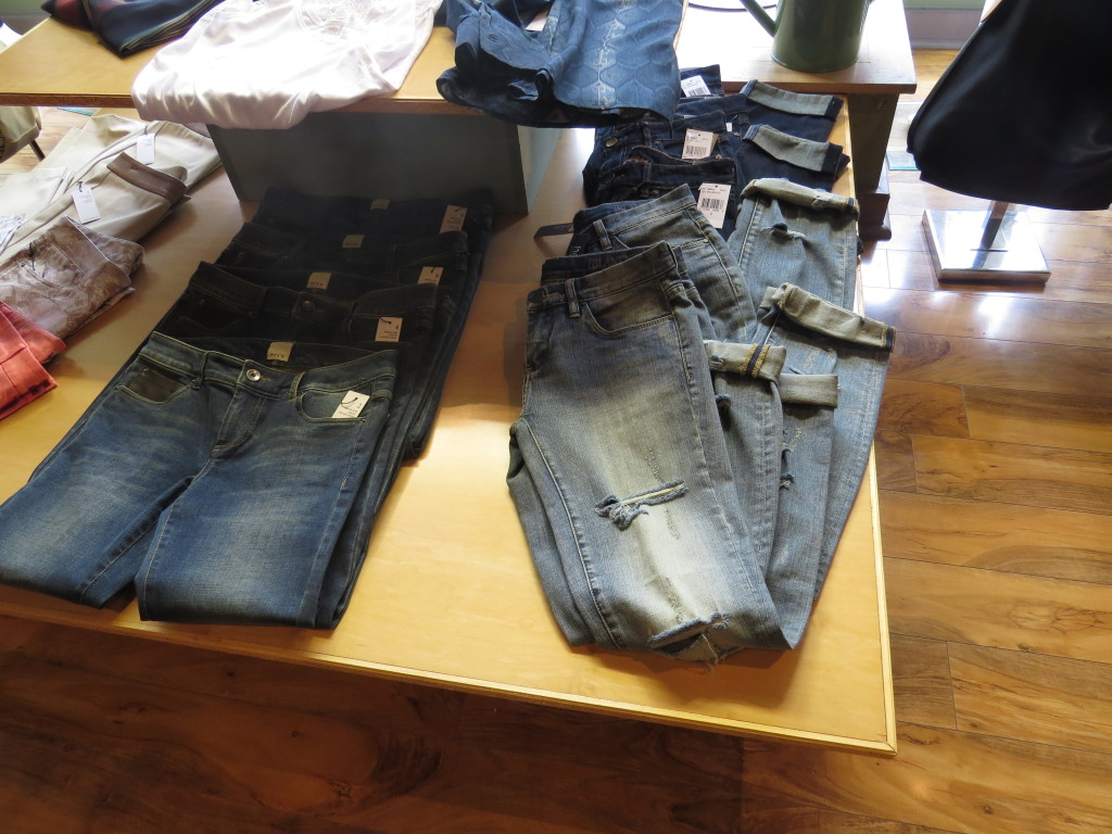All these jeans are from Green Eyed Daisy.