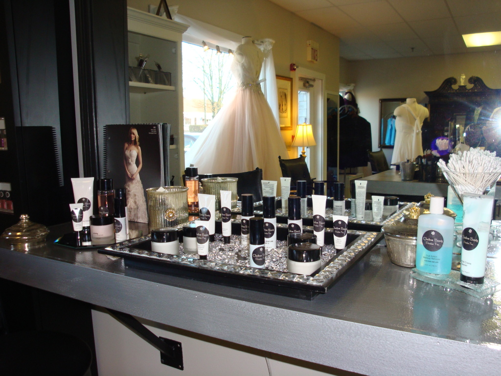 Chatham Beauty & Bridal offers expert makeup application services as well.