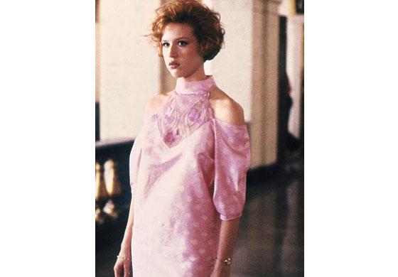 Annie's unique and iconic dress.
