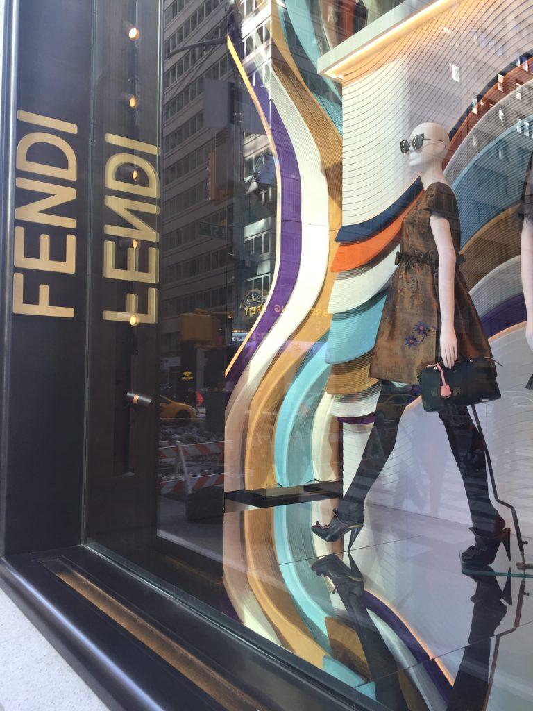 Fendi Window NYC