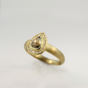 Cognac Ring from Forest Beach