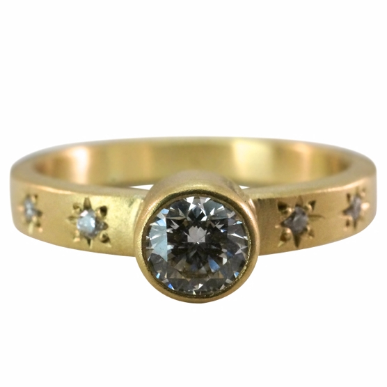 For anyone obsessed with the stars in the sky, this ring from Stephen Gallant Jewelers in Orleans is a perfect fit